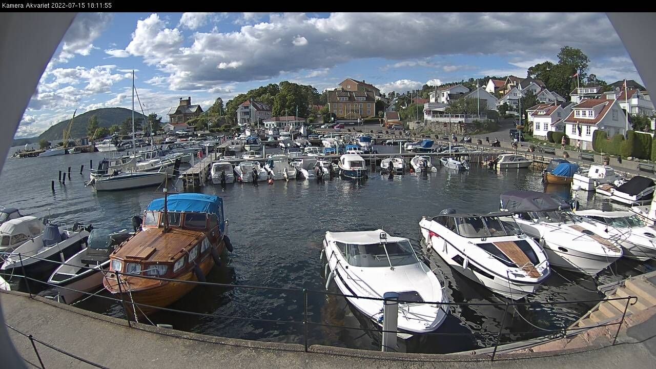 Webcam Drøbak, Frogn, Akershus, Norwegen